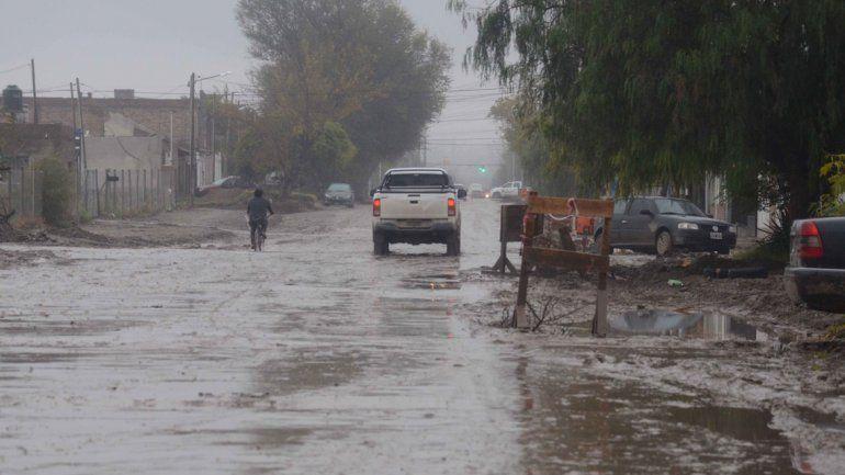 La ciudad no está preparada para enfrentar fuertes temporales.
