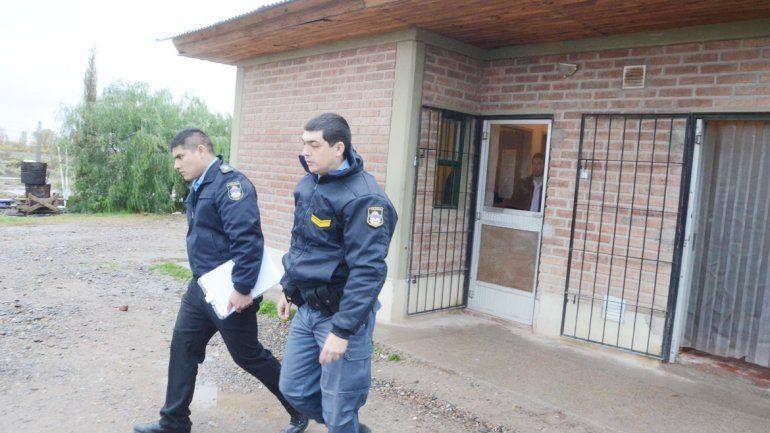 Efectivos de la Policía tomaron intervención tras el asalto.