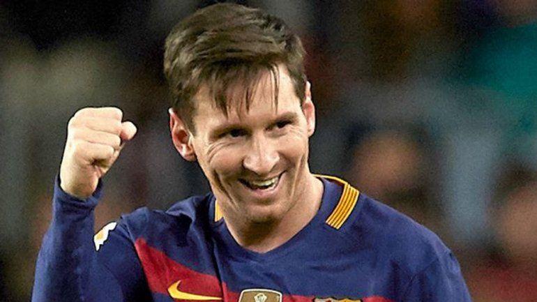 Lionel Messi volvió a festejar un título local con el Barcelona.
