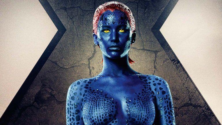 Jennifer Lawrence interpreta a Raven Darkholme/Mystique