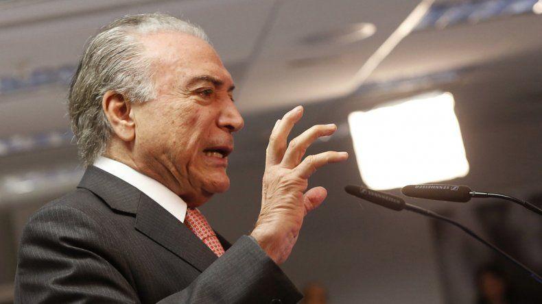 El nuevo presidente genera descontento en gran parte de Brasil.