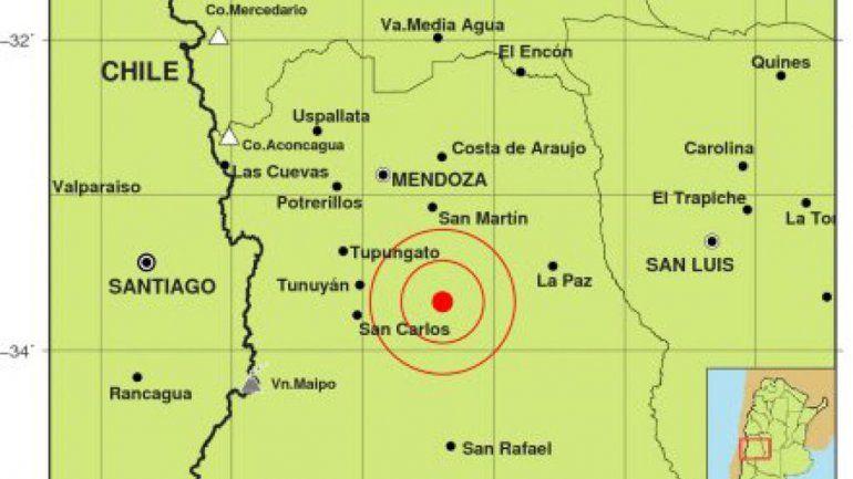 Un sismo de 5