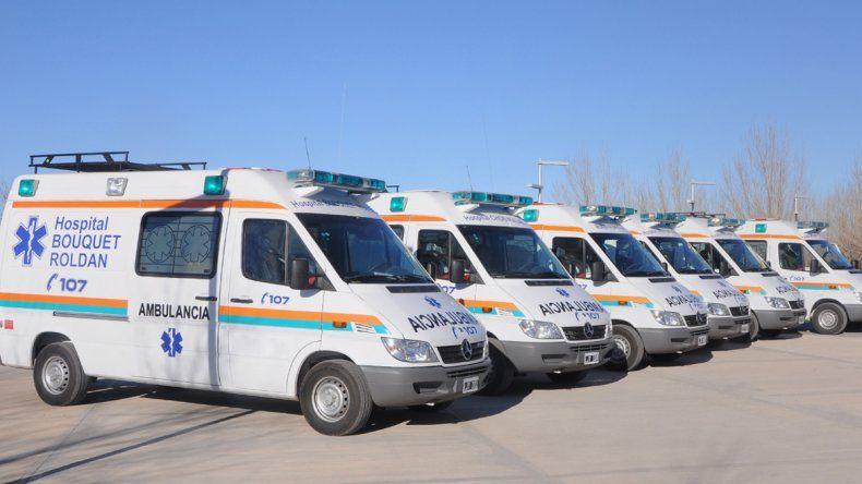 La Provincia comprará ambulancias nuevas para los hospitales