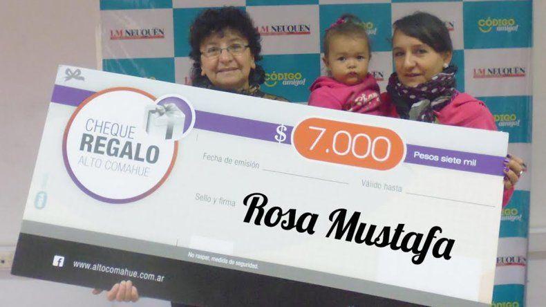 Una vecina de Los Pumas se llevó los $7 mil para gastar en el Shopping