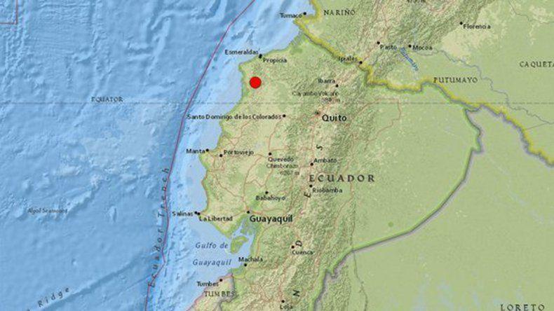 Susto por un nuevo sismo en Ecuador