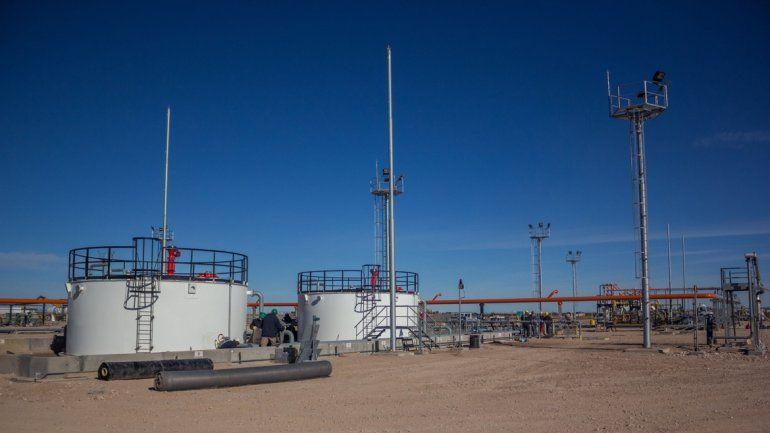 El yacimiento de YPF Rincón del Mangrullo Norte está cercano a la localidad de Añelo