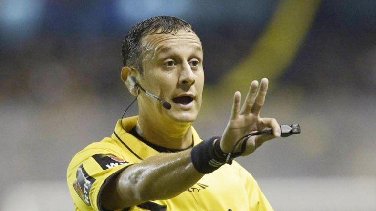 Competiría contra Diego Abal para dirigir el duelo definitivo.