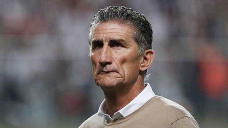El entrenador de San Pablo está agrandado. Ganó dos Libertadores.