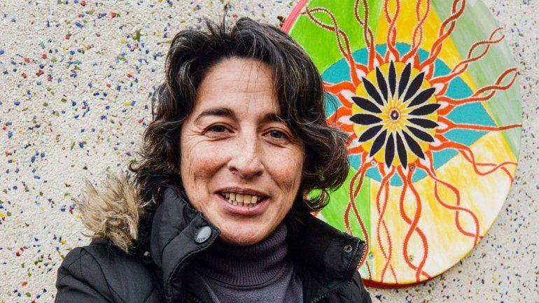Roxana Aguirre integra la Agrupación de Cannabicultores de Neuquén.