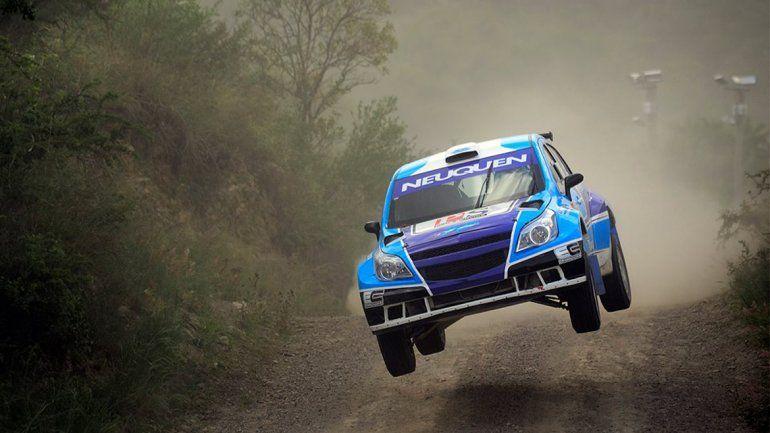 Cancio se quedó con el segundo puesto en el Rally de La Rioja