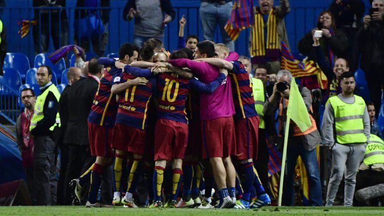 Barcelona salió campeón de la Copa del Rey tras vencer a Sevilla