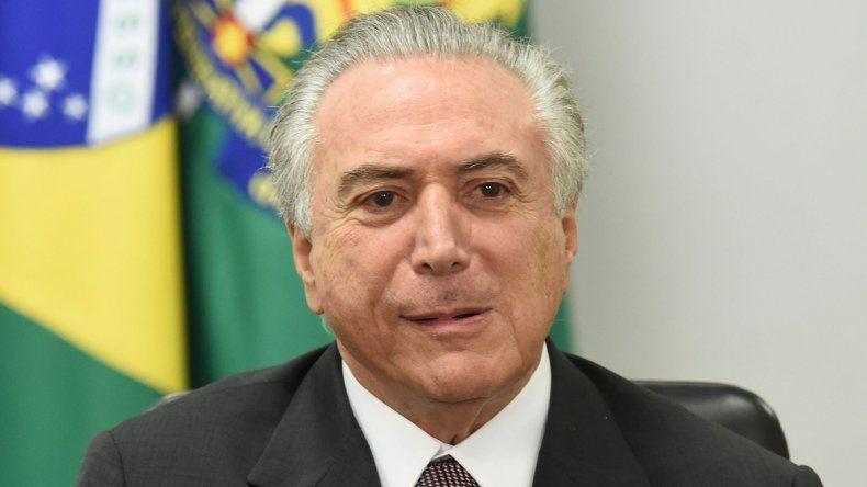 Temer es muy cuestionado por gran parte de la sociedad brasiieña.