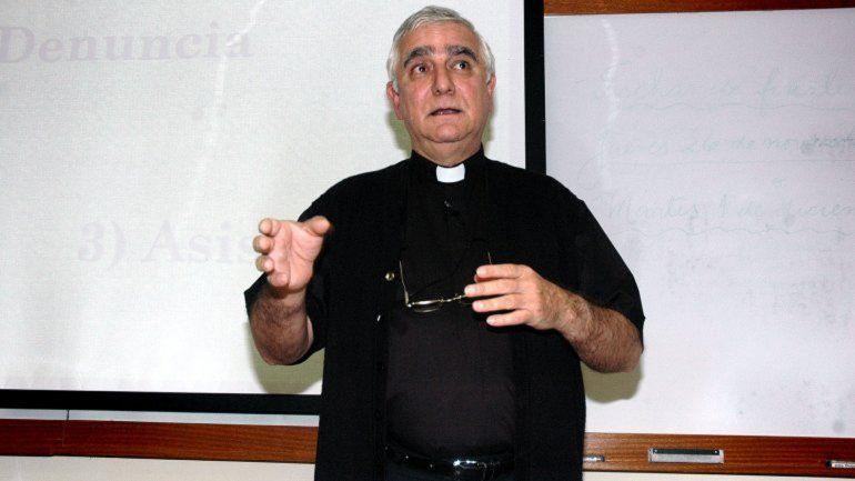 Monseñor Lozano habló en nombre de la Comisión Episcopal.