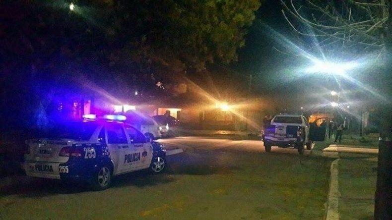 Los hechos se registraron en el barrio Otaño de Plaza Huincul.