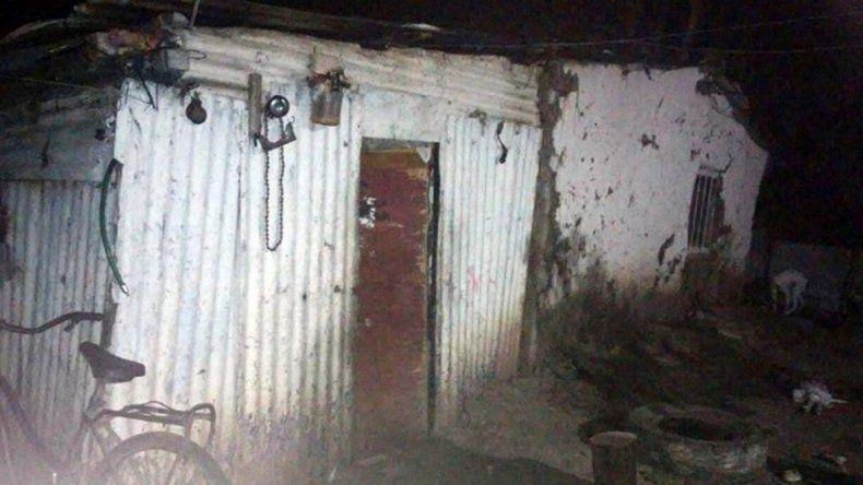 El criadero donde la tuvieron secuestrada sus suegros.