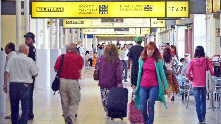 Durante el primer cuatrimestre aumentó un 30 por ciento la cantidad de pasajeros que pasaron por la terminal.