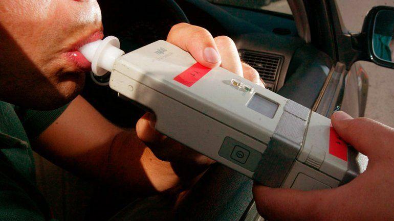 Borracho al volante tenía 4 gramos de alcohol en sangre