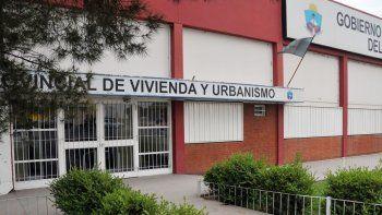 El edificio del IPVU fue allanado por varias horas por la fiscalía.