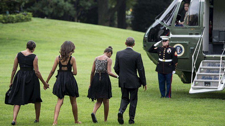 Los Obama deberán abandonar la Casa Blanca en enero del 2017.