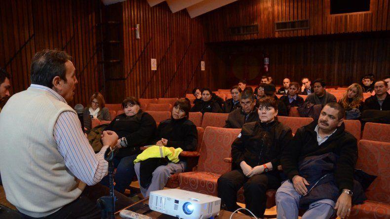 Capacitadores de Nación dieron un curso a los inspectores de tránsito.
