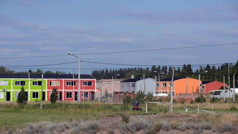 Hace dos años se instalaron las primeras familias en el barrio.