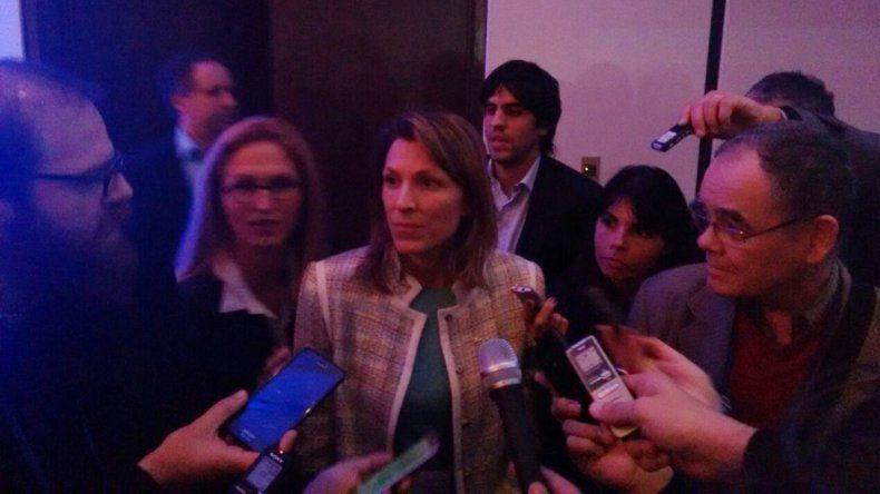 Isela Constantini confirmó que continuarán los vuelos a la Patagonia.