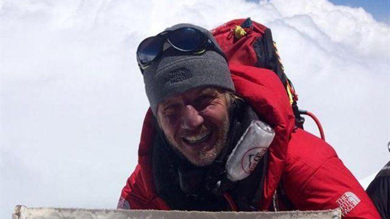 El actor recién ayer colgó algunas postales tras 45 días de expedición