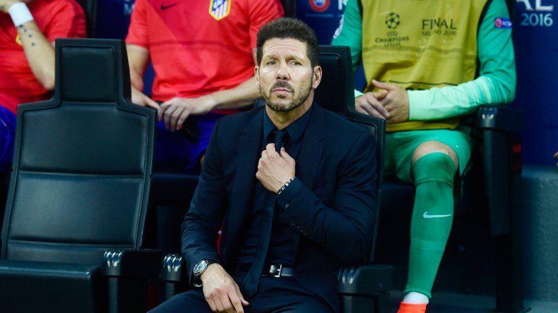 El Cholo Simeone redujo su contrato con el Atlético en dos años