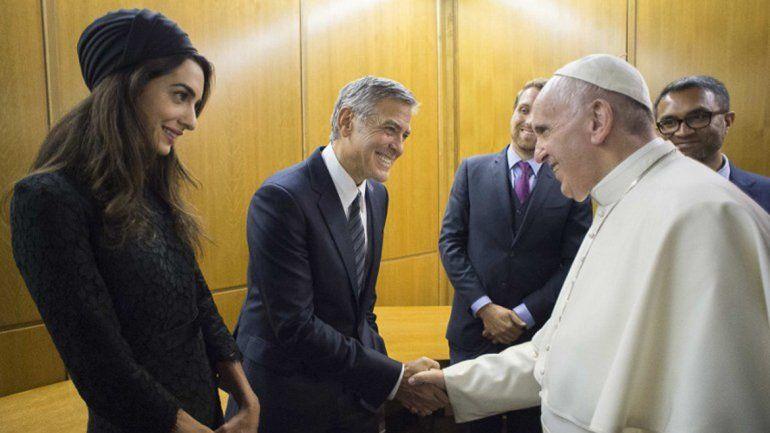 Celebridades de Hollywood fueron premiadas en el Vaticano