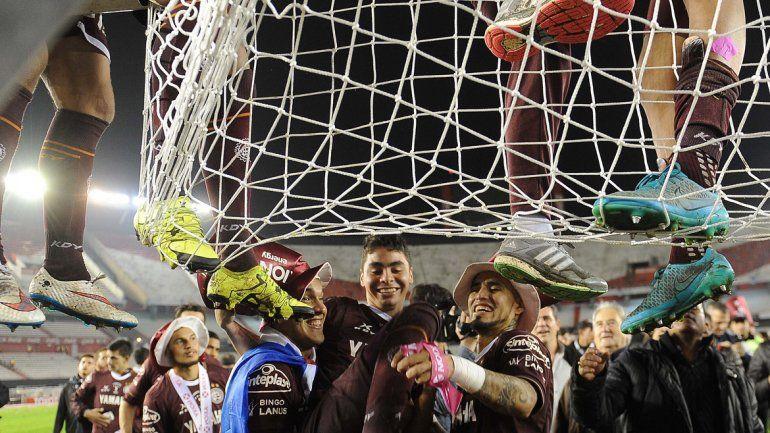 Lanús se consagró campeón del fútbol argentino por segunda vez