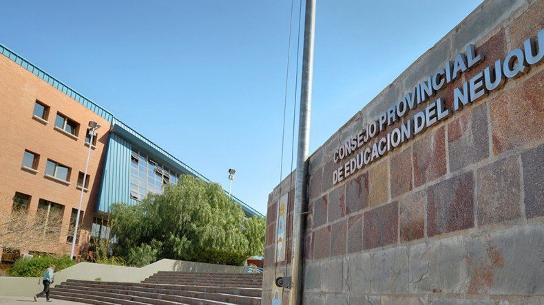 El edificio del Consejo Provincial de Educación.