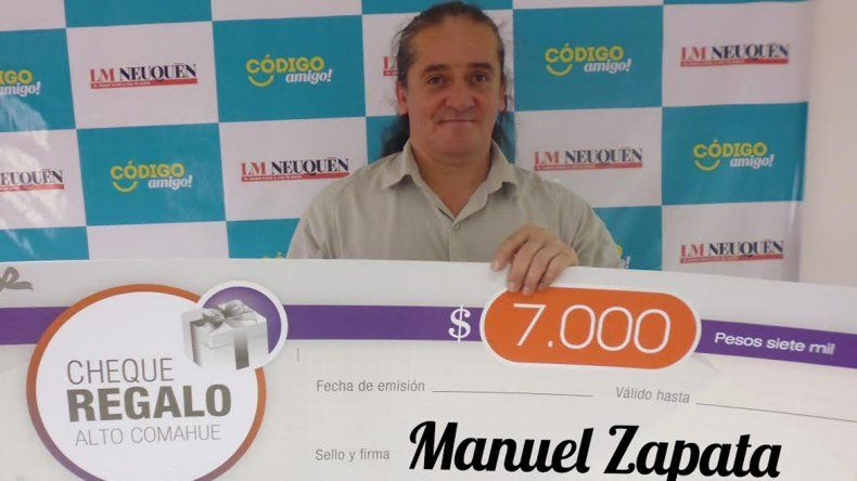 Manuel de Senillosa ya tiene sus $7 mil para disfrutar en el shopping