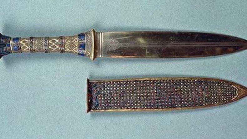 Uno de los puñales del rey de Egipto.