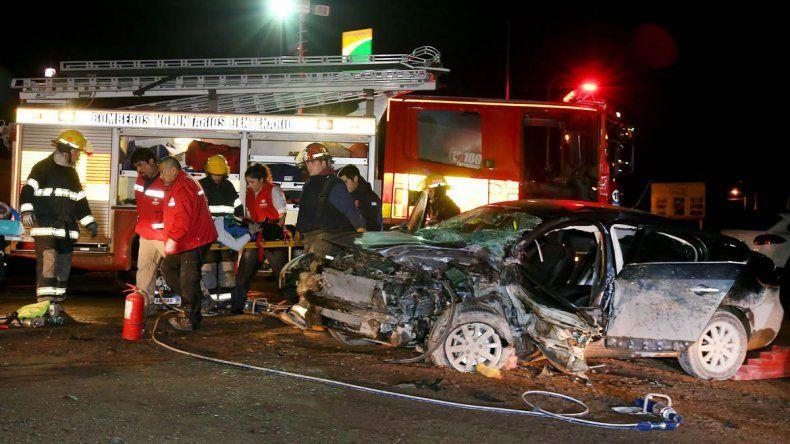 Dos accidentes sin heridos graves en la peligrosa ruta entre Neuquén y Centenario