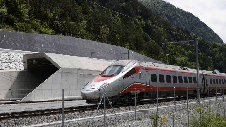 El túnel ferroviario de San Gotardo