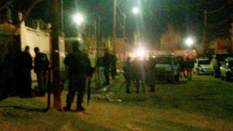 Foto de archivo de los incidentes en el barrio Progreso de Cutral Co.