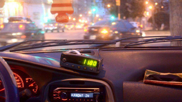 Unos 200 taxistas no validaron el aumento de la tarifa . Les falta el GPS.