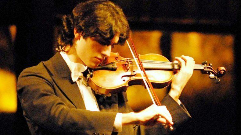 Consagrado. El violinista nacido en Bahía Blanca ha recibido diferentes premios y distinciones en Latinoamérica y España.