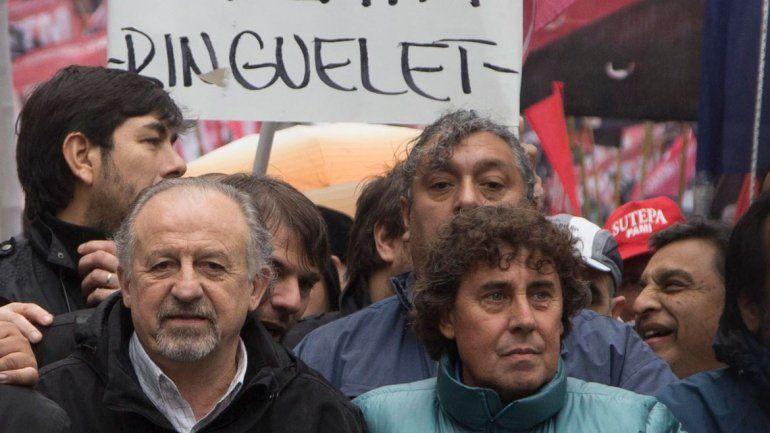 Hugo Yasky y Pablo Micheli
