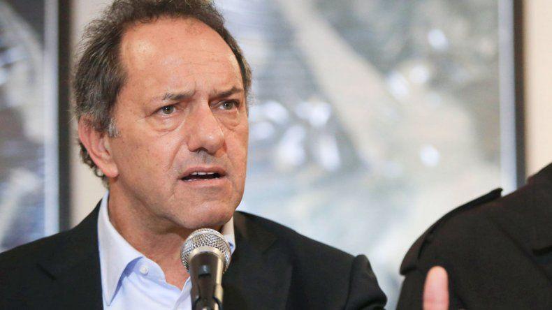 Daniel Scioli bajó su precandidatura presidencial