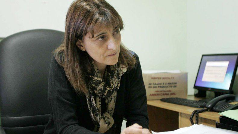 Silvia Mastrángelo está a cargo del hospital de Centenario.