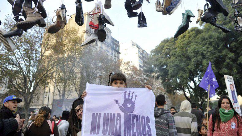 El país se movilizó contra la violencia de género