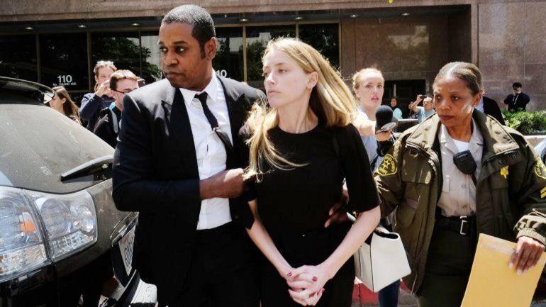 Heard denunció a Depp el 27 de mayo y aseguró que durante su matrimonio sufrió maltrato verbal y físico.