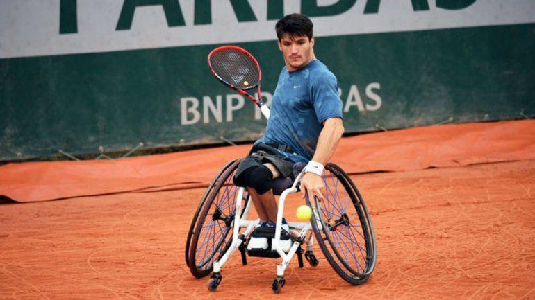 Lobito Fernández se consagró campeón sobre silla de ruedas
