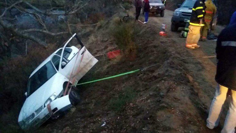 Un hombre resultó herido tras volcar sobre la Ruta 23 cerca de Pilo Lil