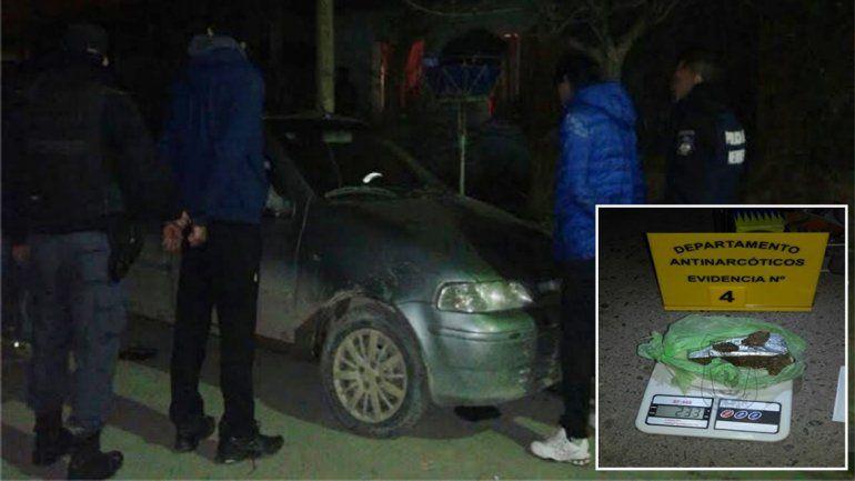 Detuvieron a un hombre con marihuana y cocaína en el barrio San Lorenzo Norte