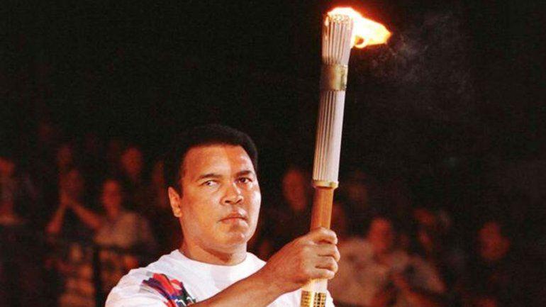 Encendió el pebetero en los JuegosOlímpicos de Atlanta 96.