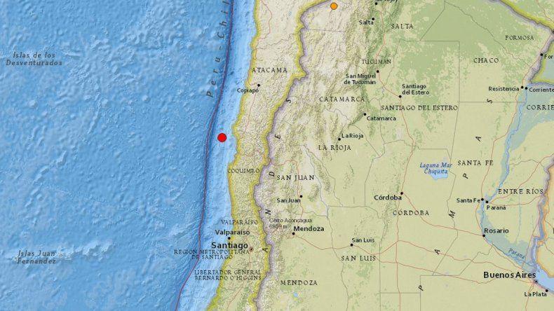 Varios sismos sacudieron el norte de Chile