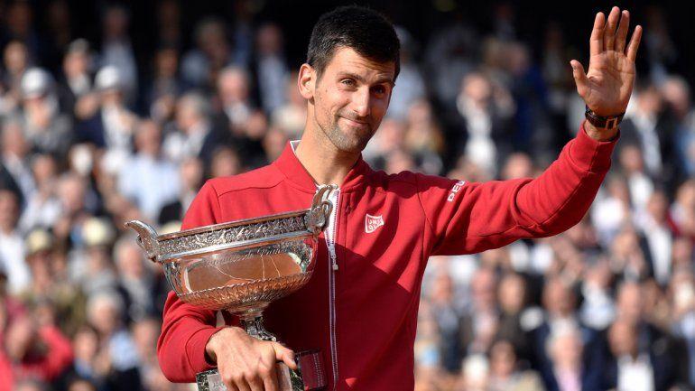 Djokovic gritó campeón por primera vez en Roland Garros