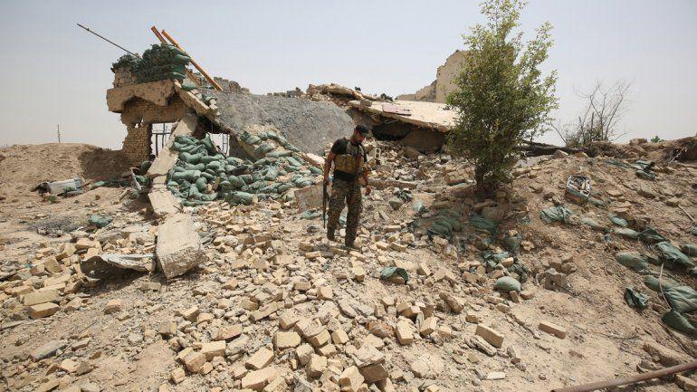 El hallazgo se produjo en la ciudad de Fallujah.